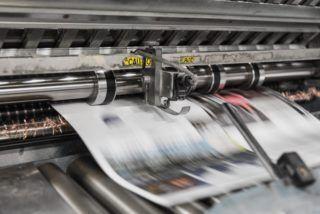Newspaper printer